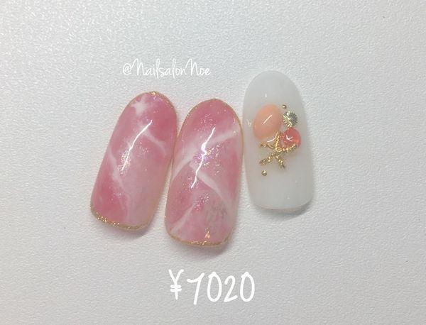 【ハンド】8月の定額デザインB¥7,020