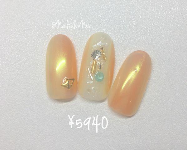 【ハンド】8月の定額デザインA¥5,940