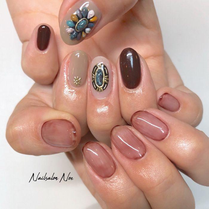 my nails*・。